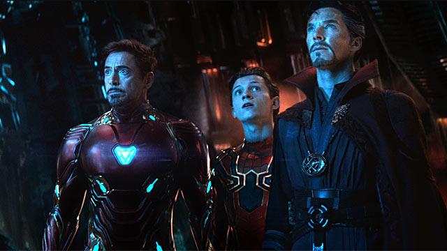 Мстители Война бесконечности