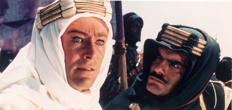 40 лучших исторических фильмов всех времен Лоуренс Аравийский (Lawrence of Arabia) 1962