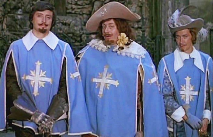 Д'Артаньян и три мушкетёра 1978