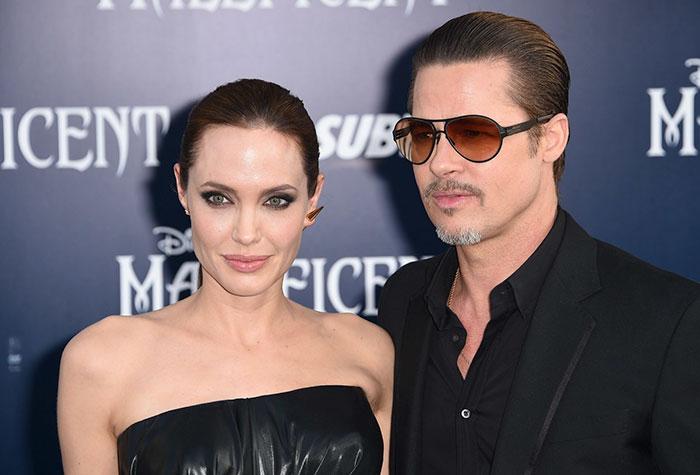 Брэд Питт копирует стиль своих женщин Анджелина Джоли 4
