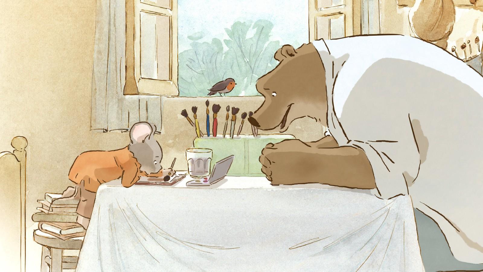 Эрнест и Селестина: Приключения мышки и медведя (Ernest et Célestine) 2012