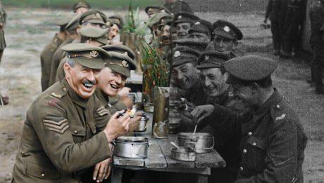 Они не состарятся: Питер Джексон перевел в цвет хронику Первой мировой