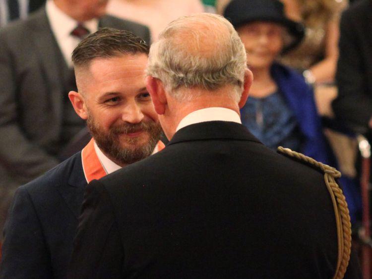 Том Харди получил Орден Британской империи