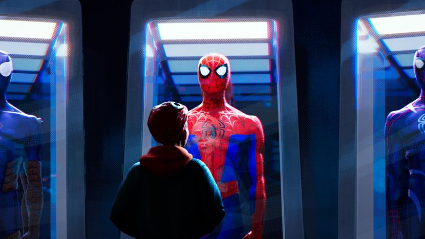 Человек-паук: Вокруг вселенной (Человек-паук: Через вселенные / Spider-Man: Into the Spider-Verse)