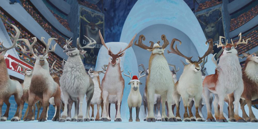 Эллиот: самый маленький олень Санты (Elliot the Littlest Reindeer)