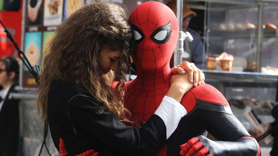 Человек-паук Вдали от дома (Spider-Man Far from Home)