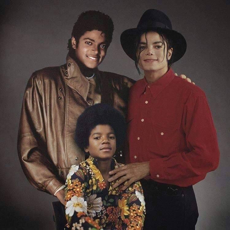 Актеры и музыканты встречают сами себя в молодости Майкл Джексон