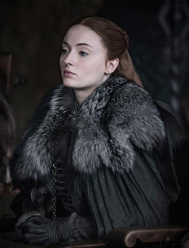 Игра престолов 8 сезон первые кадры Софи Тернер