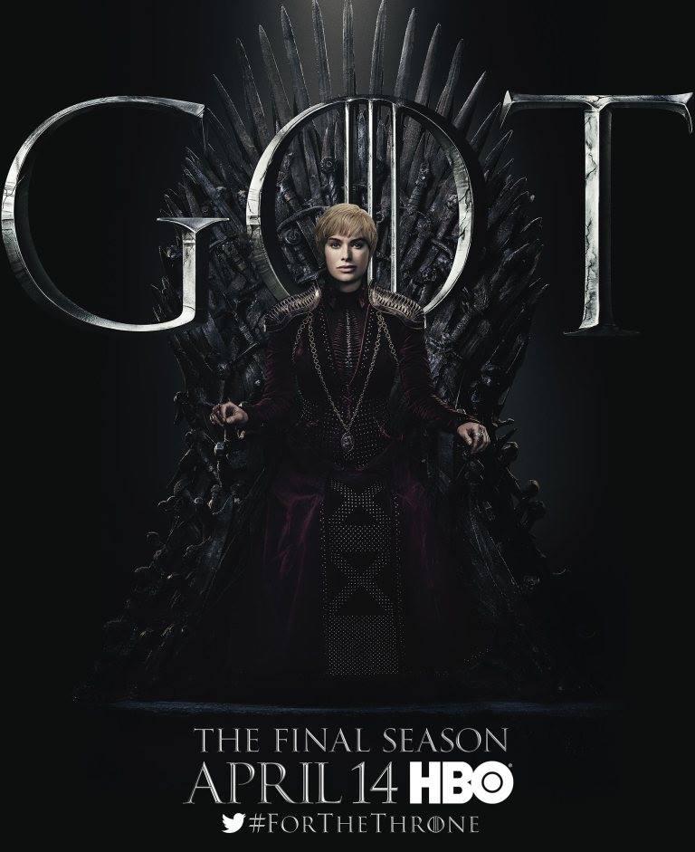 Игра престолов финальный сезон постеры