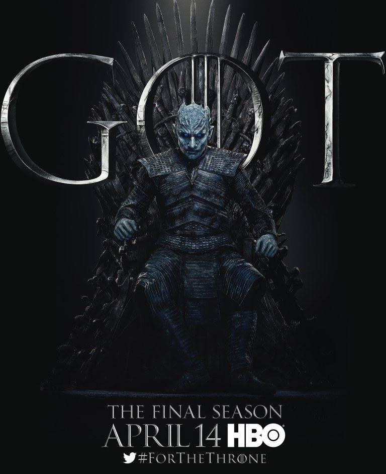 Игра престолов финальный сезон постеры белые ходоки