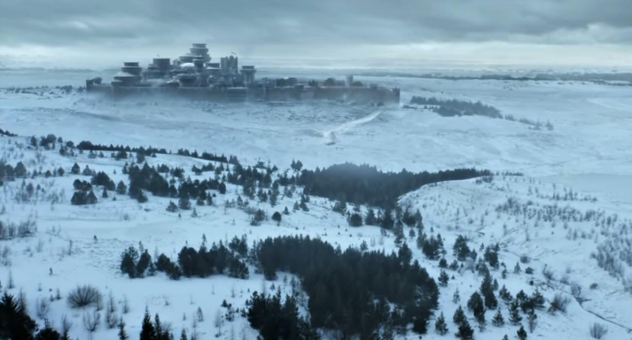 Замок Винтерфелл Игра престолов финальный сезон