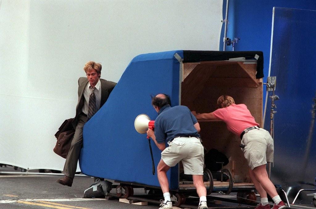Знакомьтесь Джо Блэк как снимали автокатастрофу с Брэдом Питтом