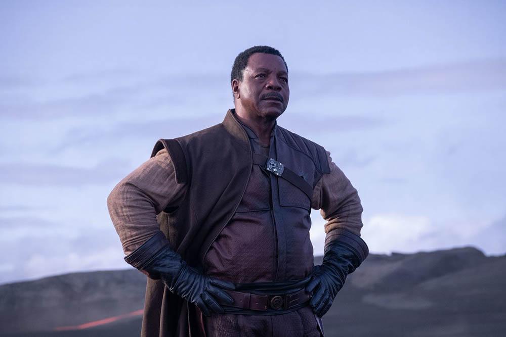 Мандалорец первые кадры сериала Звездных войн Карл Уэзерс