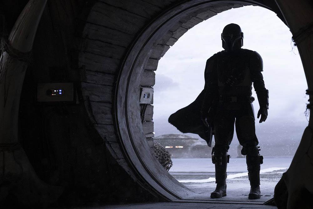Мандалорец первые кадры сериала Звездных войн