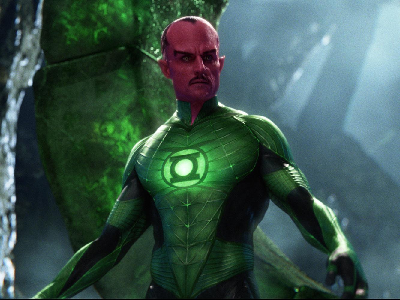 Зеленый Фонарь Green Lantern Марк Стронг