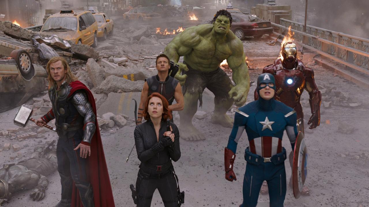 6. Мстители (The Avengers) 2012