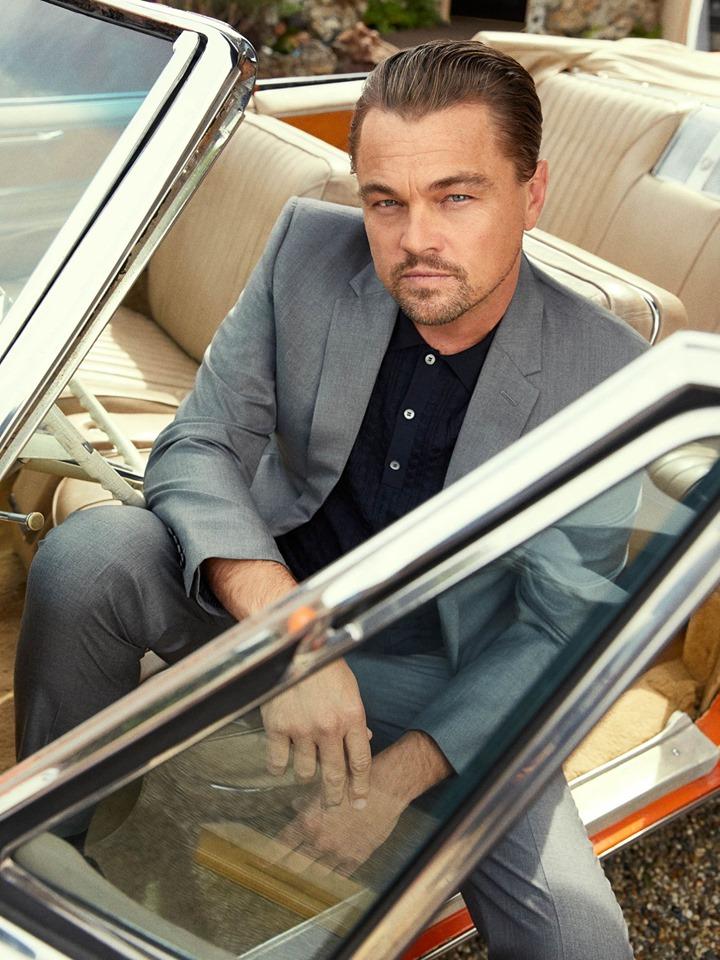 Однажды в Голливуде фотосессия Квентин Тарантино Брэд Питт Леонардо Ди Каприо 2019 Esquire