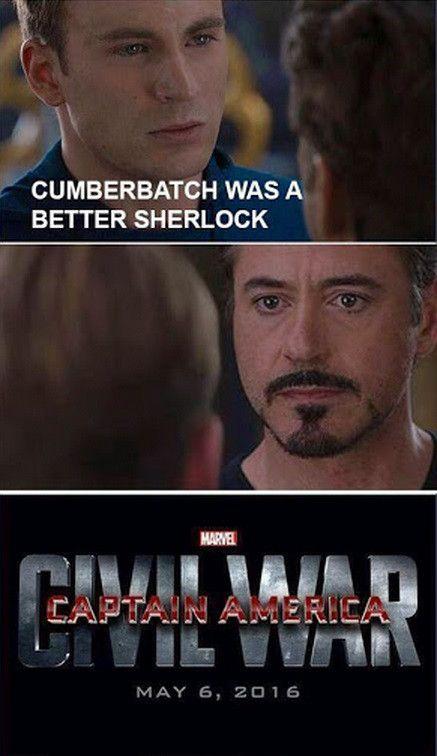 Железный человек Капитан Америка мем