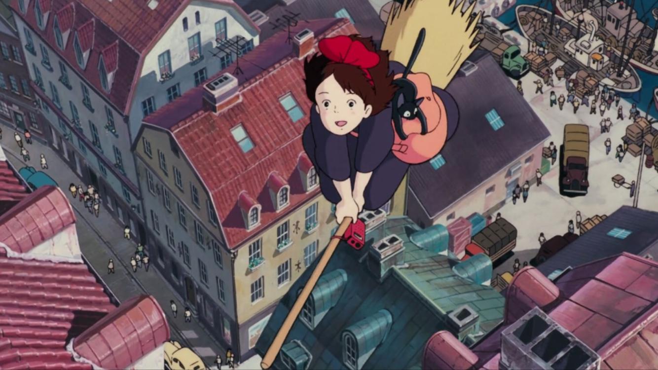 Ведьмина служба доставки (Majo no takkyûbin)1989