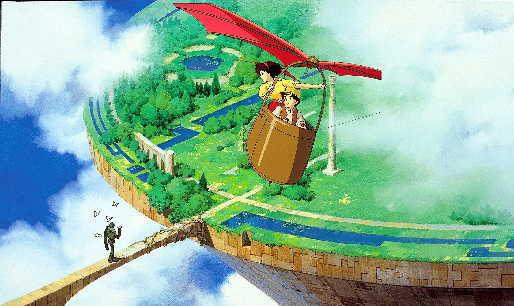 Небесный замок Лапута (Tenkû no shiro Rapyuta)1986