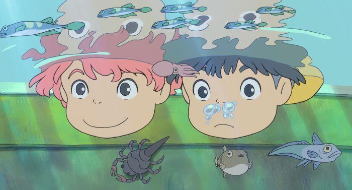 Рыбка Поньо на утёсе (Gake no ue no Ponyo) 2008