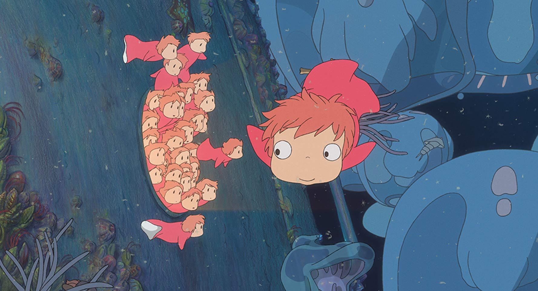 Рыбка Поньо на утёсе (Gake no ue no Ponyo)2008