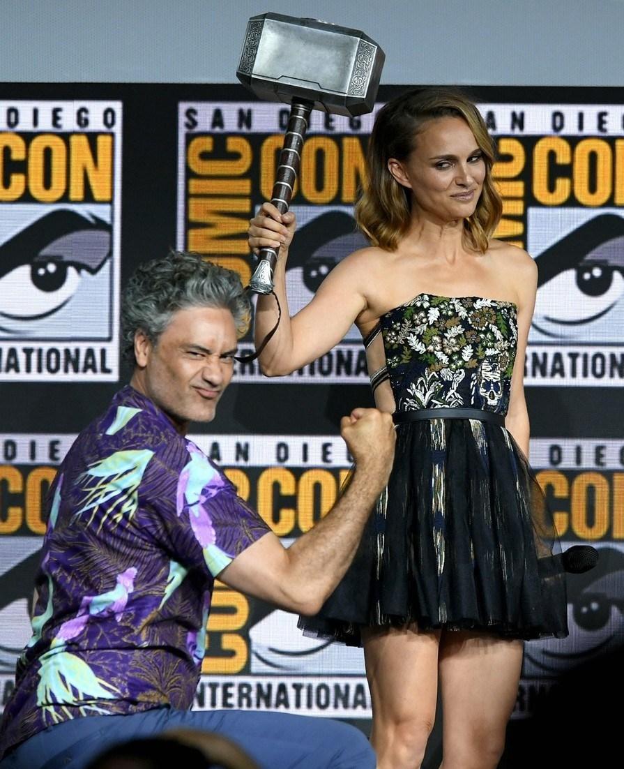Тайка Вайтити и Натали Портман Comic Con