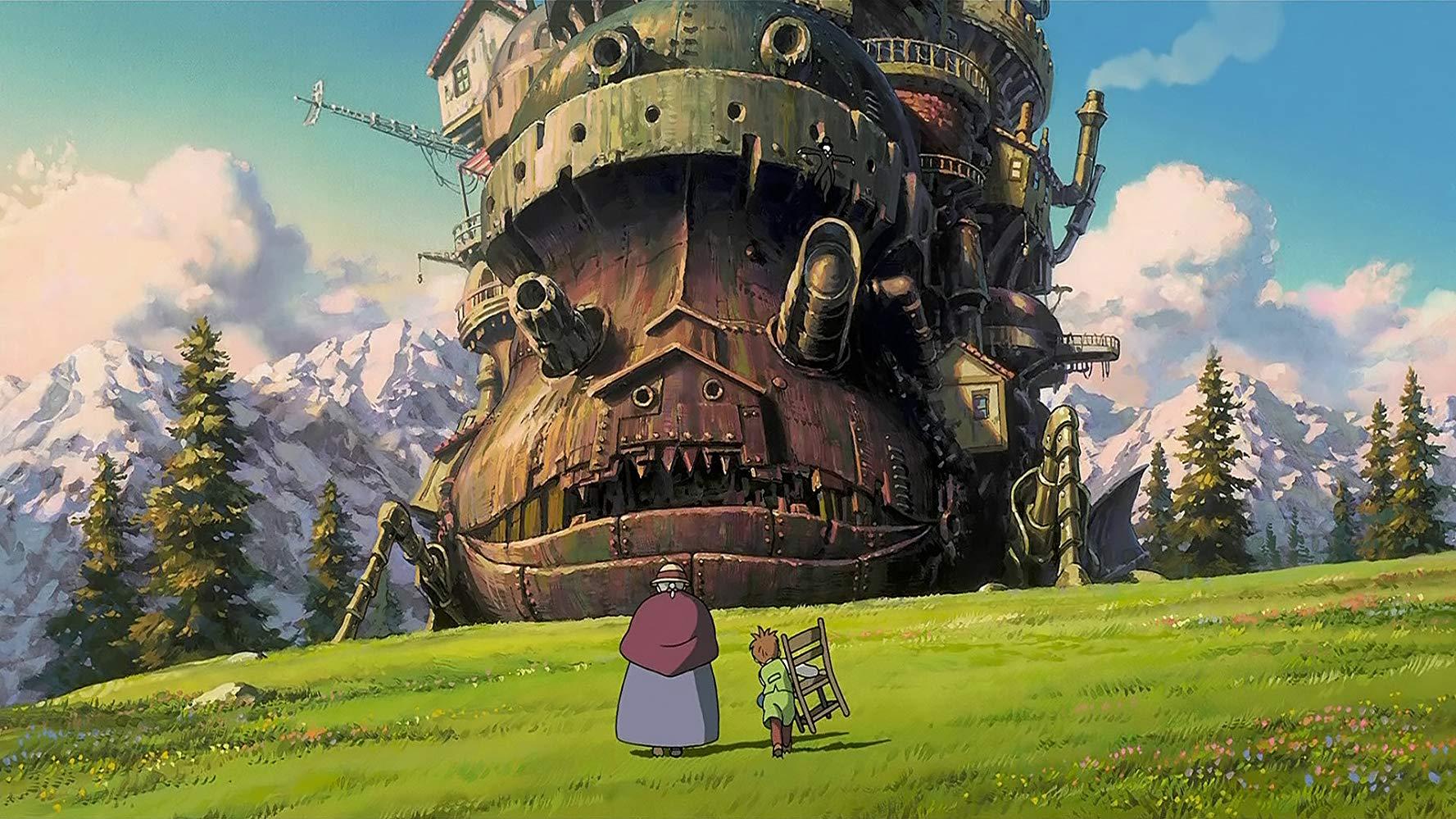 Ходячий замок (Hauru no ugoku shiro)2004