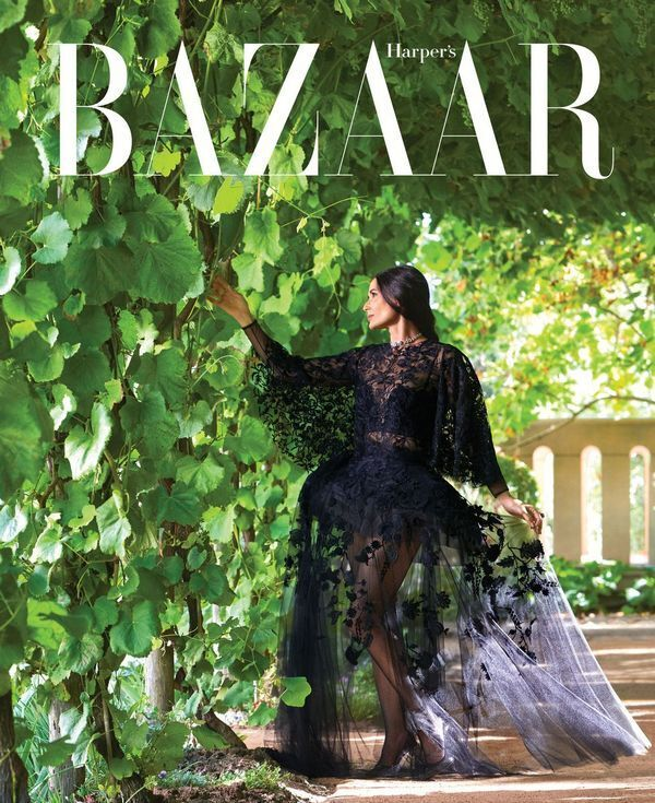 Деми Мур Harper's Bazaar фото 4