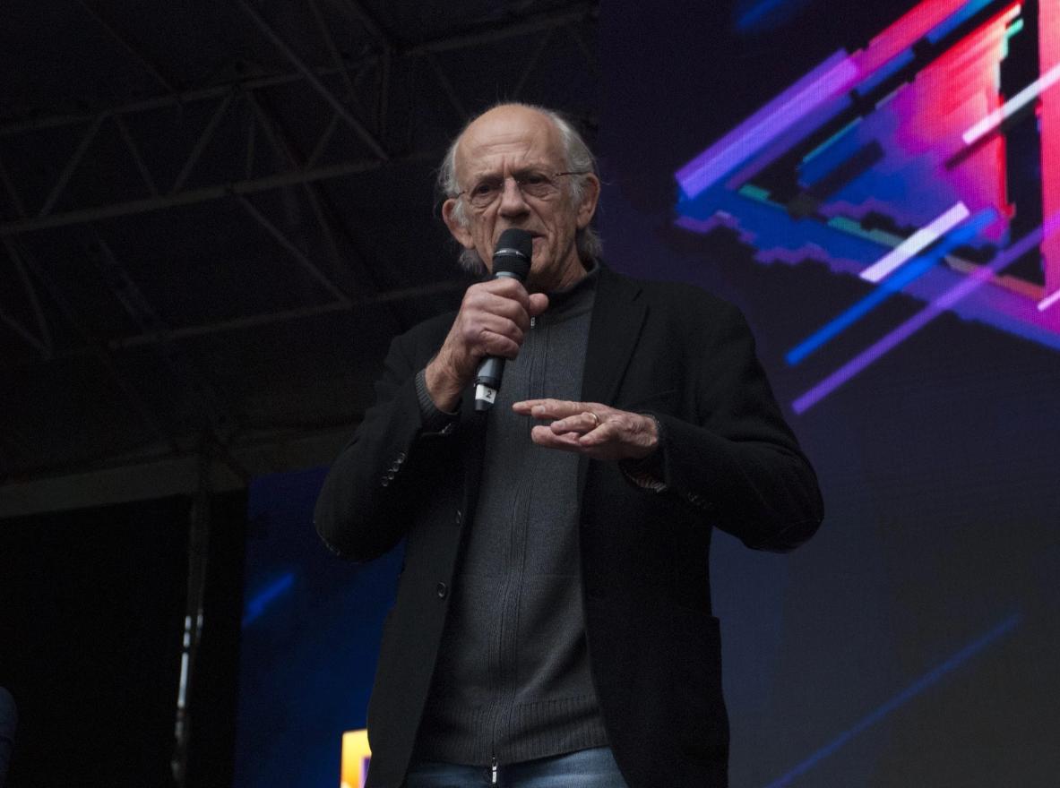 Кристофер Ллойд в Киеве