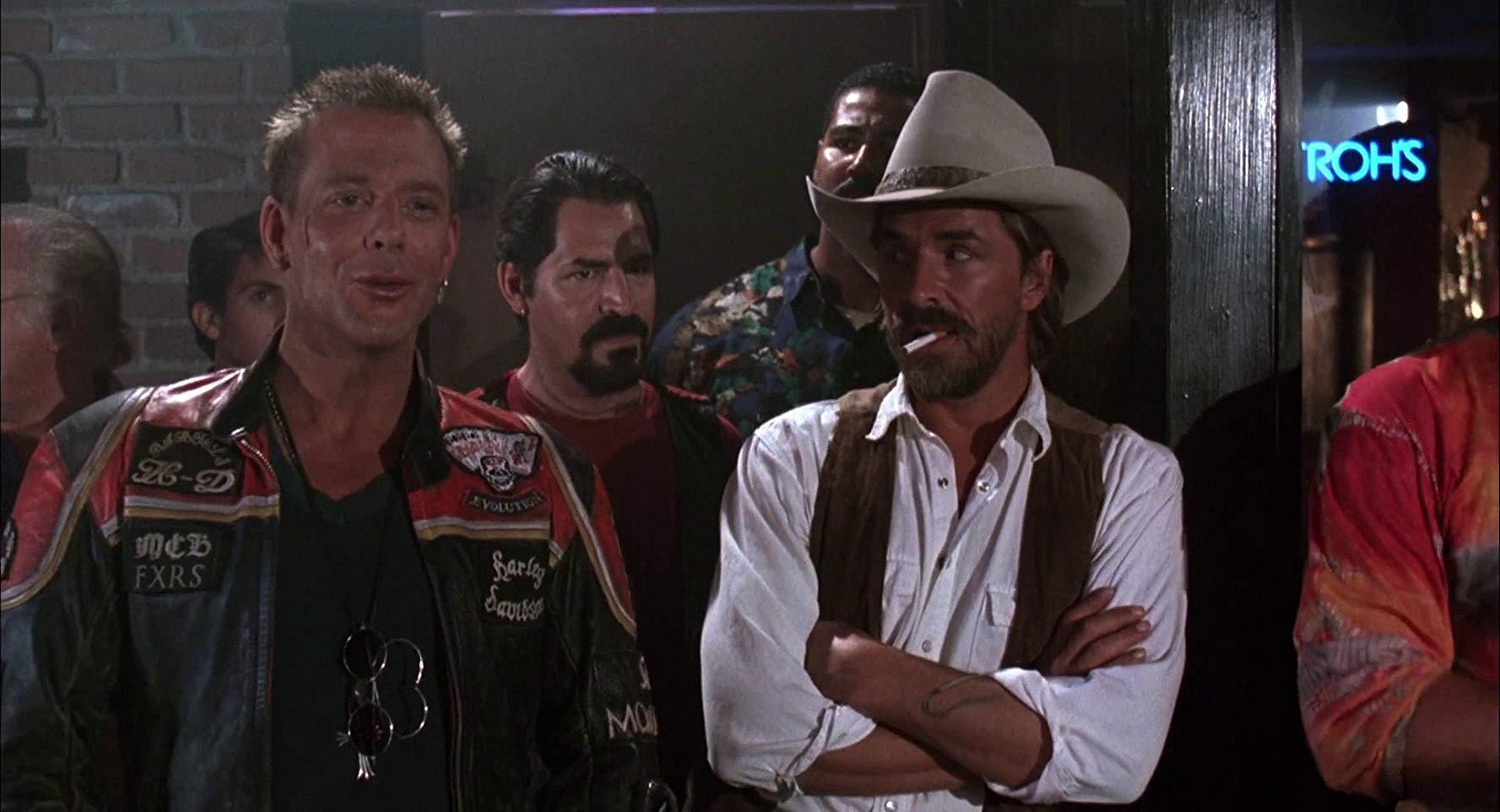 Харлей Дэвидсон и ковбой Мальборо (Harley Davidson and the Marlboro Man) 1991