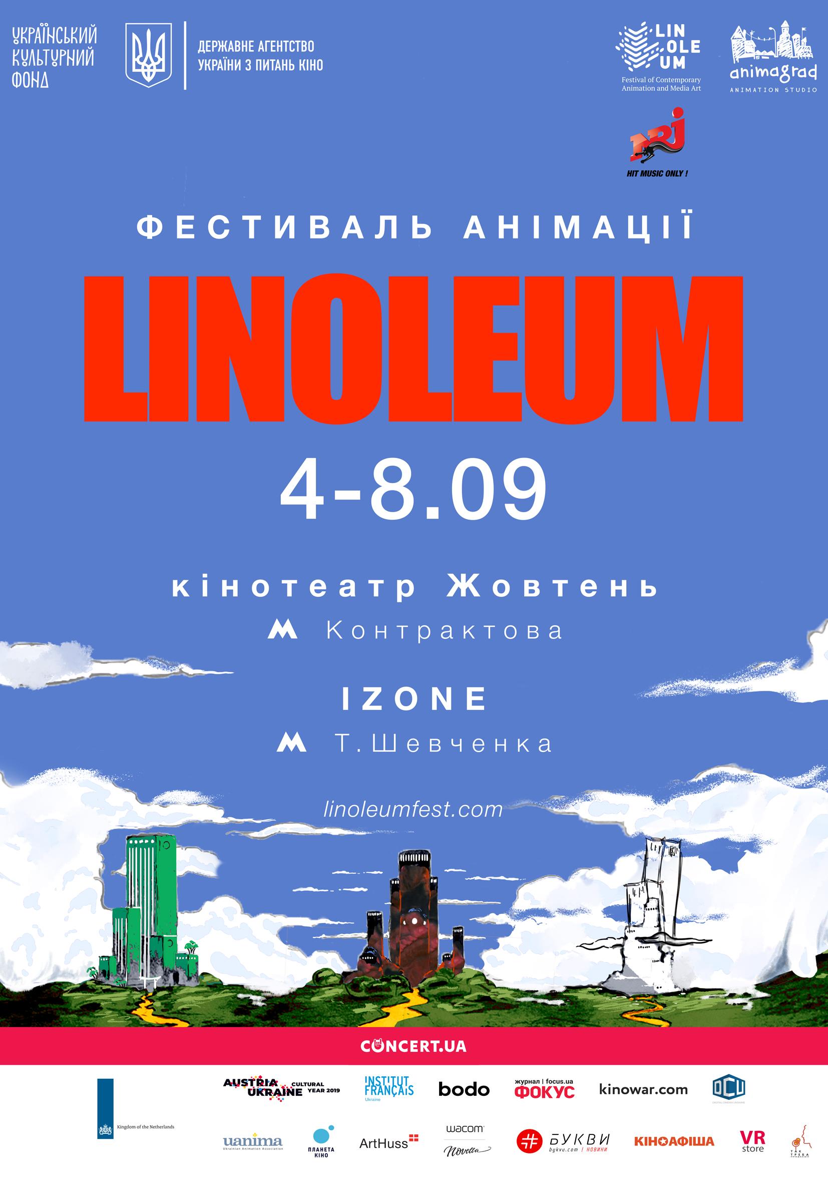POSTER LINOLEUM 2019