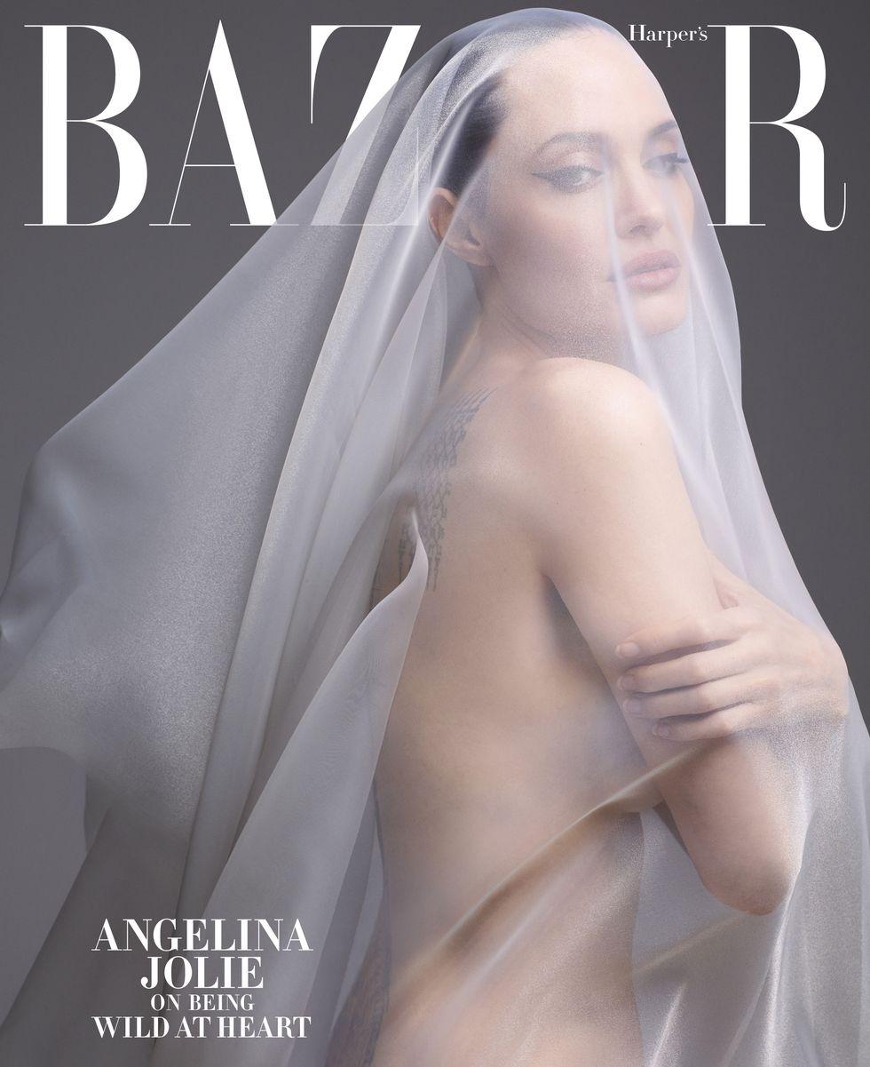 Анджелина Джоли Harper's Bazaar 44 года