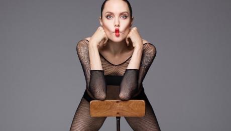 Анджелина Джоли Harper's Bazaar