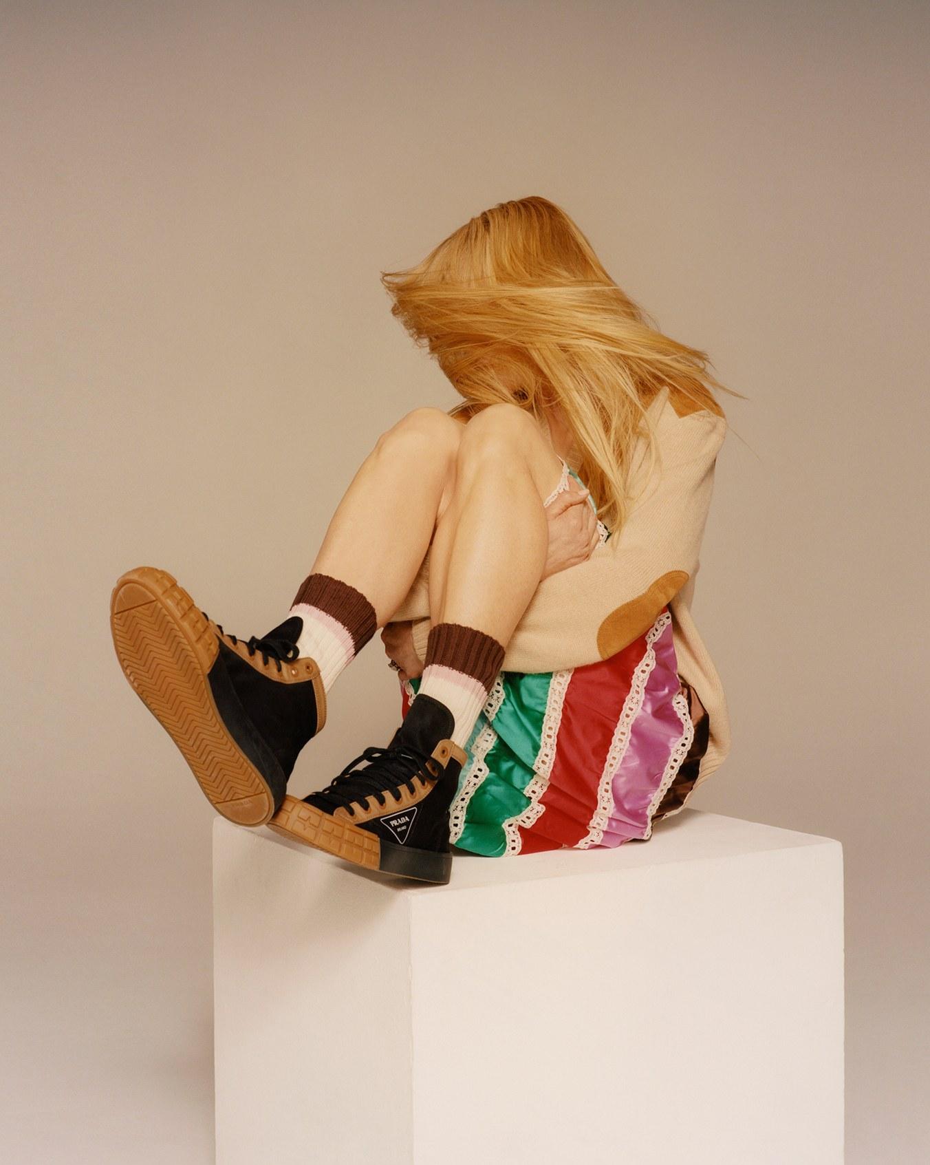 Николь Кидман для фильма Секс-бомба журнал W фото волосы