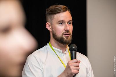 Богдан Жук, програмний координатор кінофестивалю «Молодість», куратор програми ЛГБТК-кіно Sunny Bunny