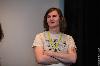 Віктор Глонь, програмний координатор «Молодості», куратор Національного конкурсу