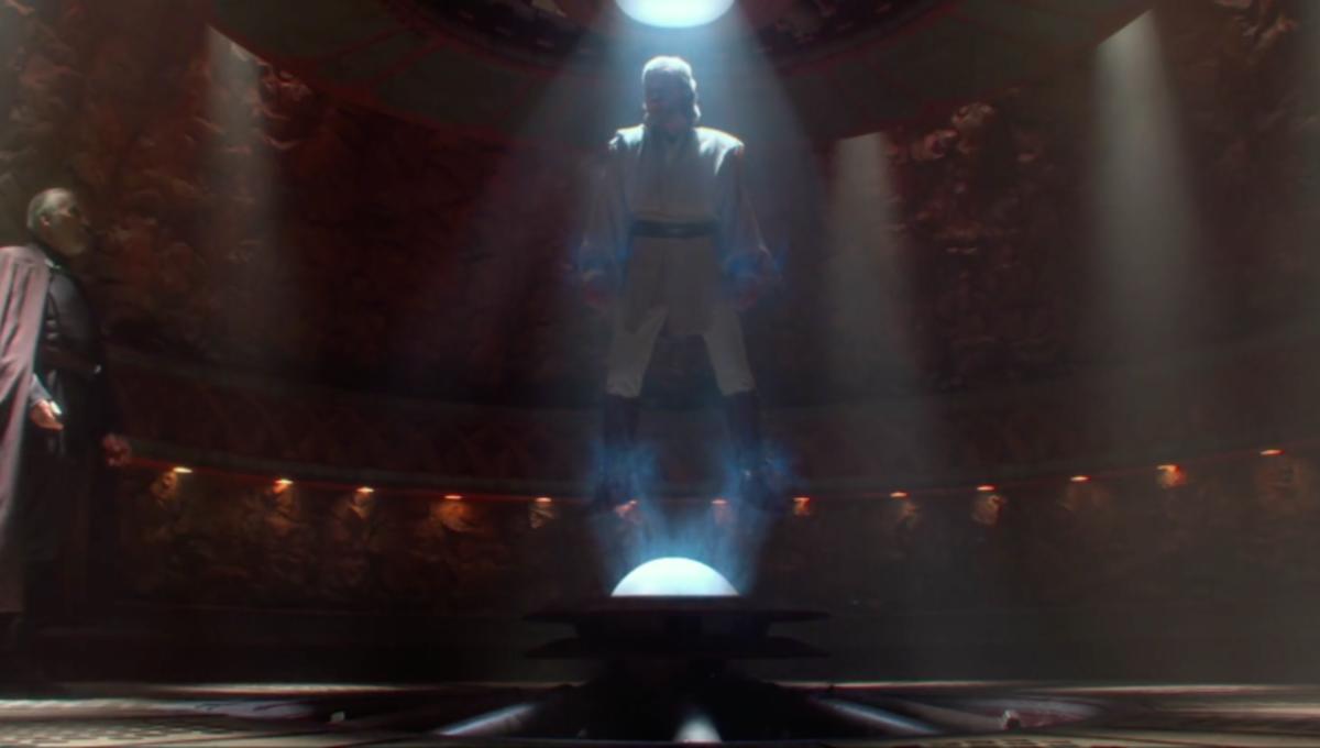 Звездные войны Атака клонов оби ван говорит с графом дуку