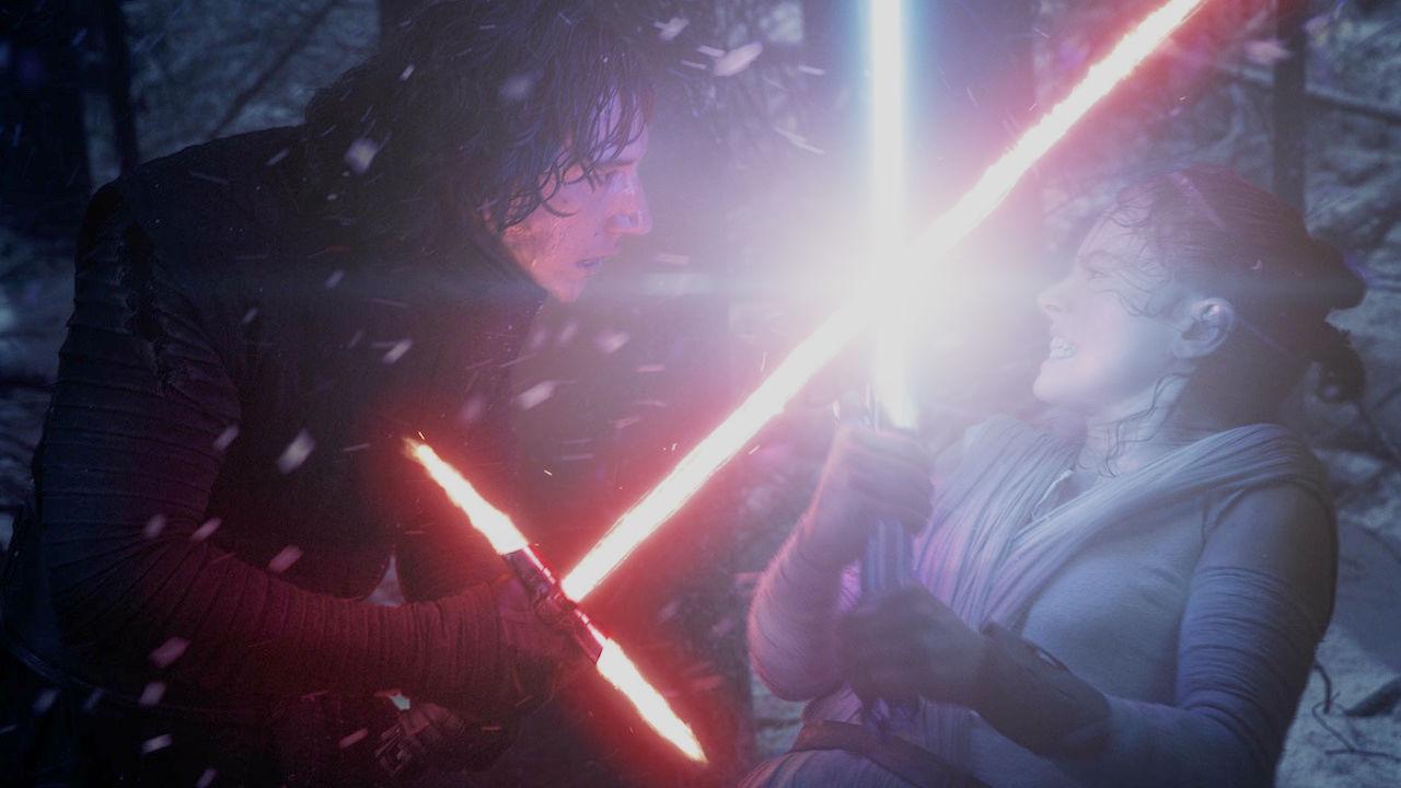 Звездные войны Пробуждение силы Star Wars The Force Awakens Кайло Рен Рей бой