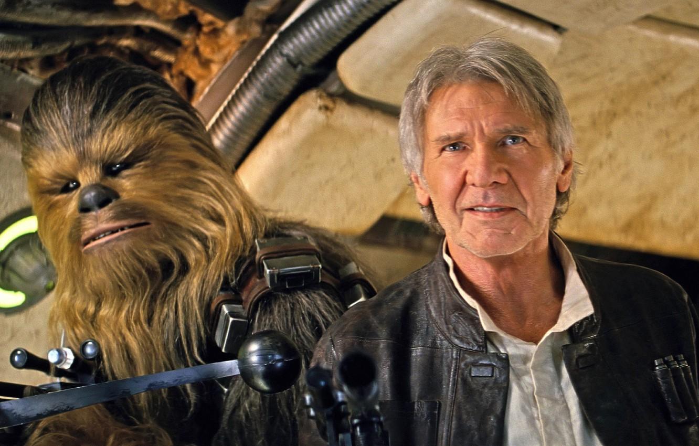 Звездные войны Пробуждение силы Star Wars The Force Awakens Хан Соло Чубакка