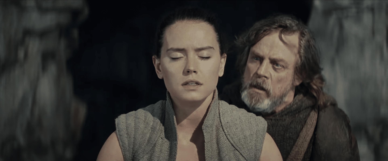 Звездные войны 8 Последние Джедаи Люк Скайуокер и Рей