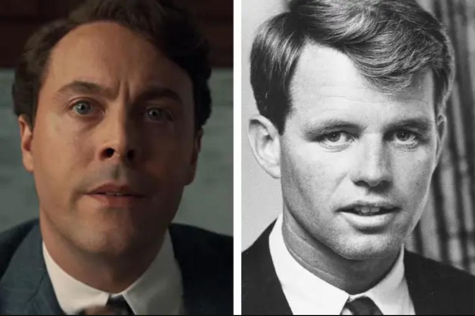 Ирландец актеры и реальные люди Джек Хьюстон Роберт Кеннеди