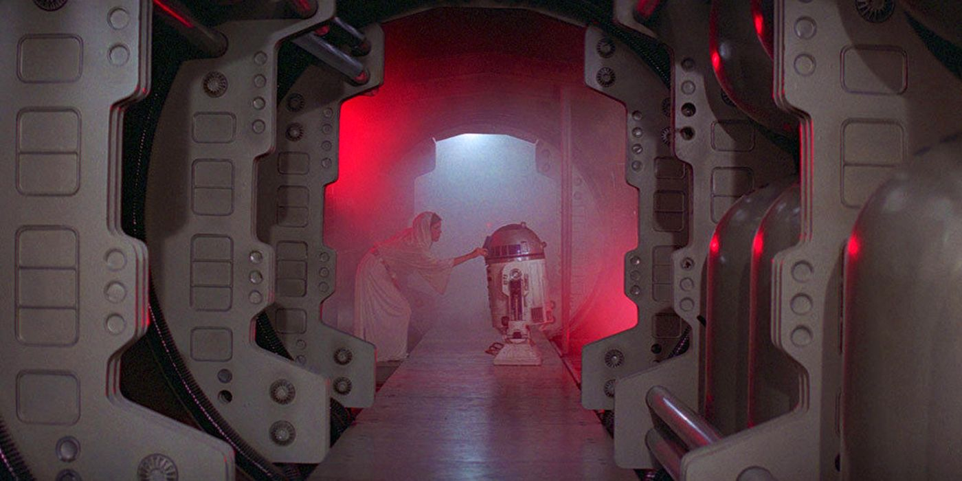 Новая надежда Звездные войны 4 принцесса Лея R2D2