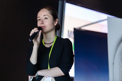 Руслана Сидорчук, програмна координаторка студентськогоі короткометражного конкурсу КМКФ «Молодість»