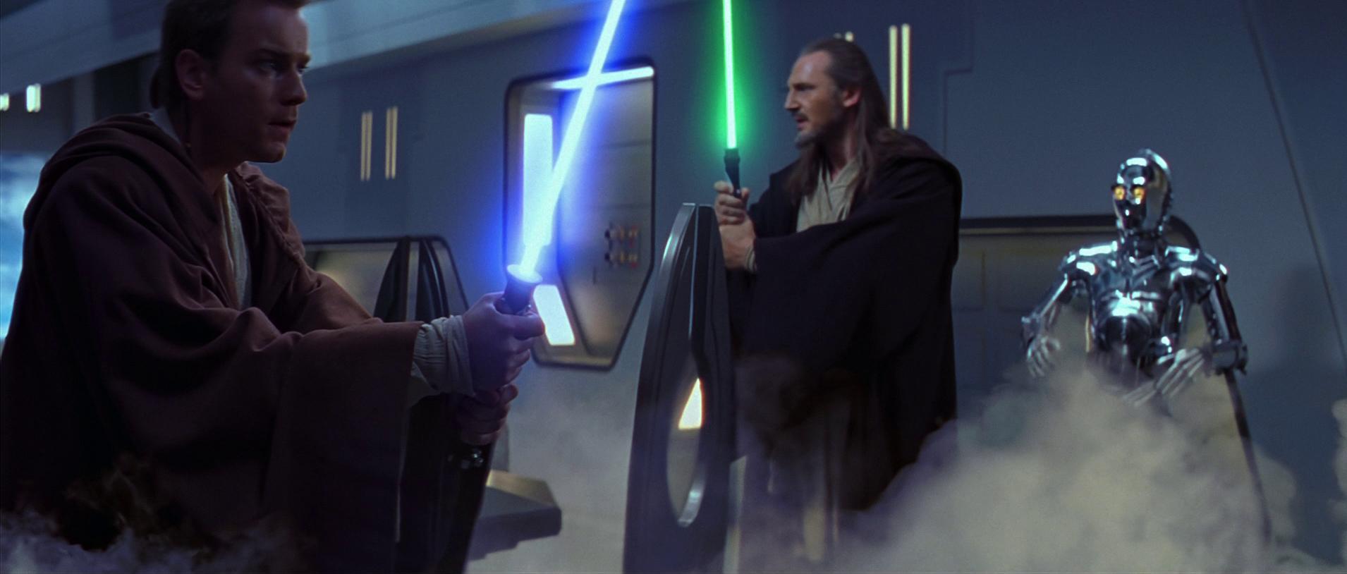 Скрытая угроза Звездные войны оби ван кеноби квай гон джинн
