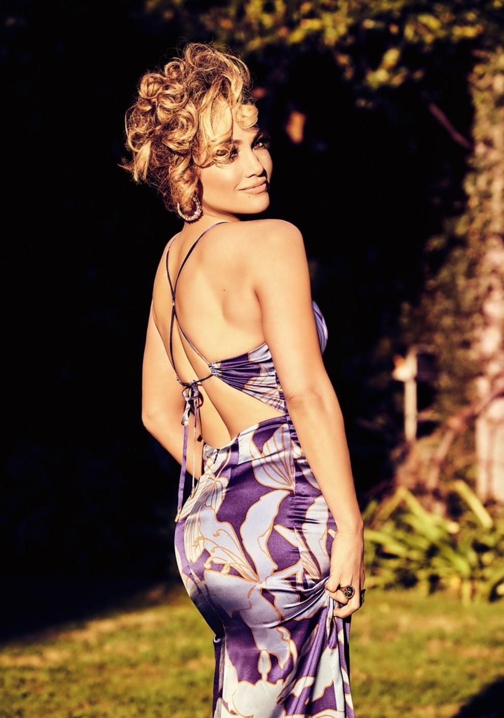 Дженнифер Лопес в рекламной кампании Guess весна-лето фотосессия