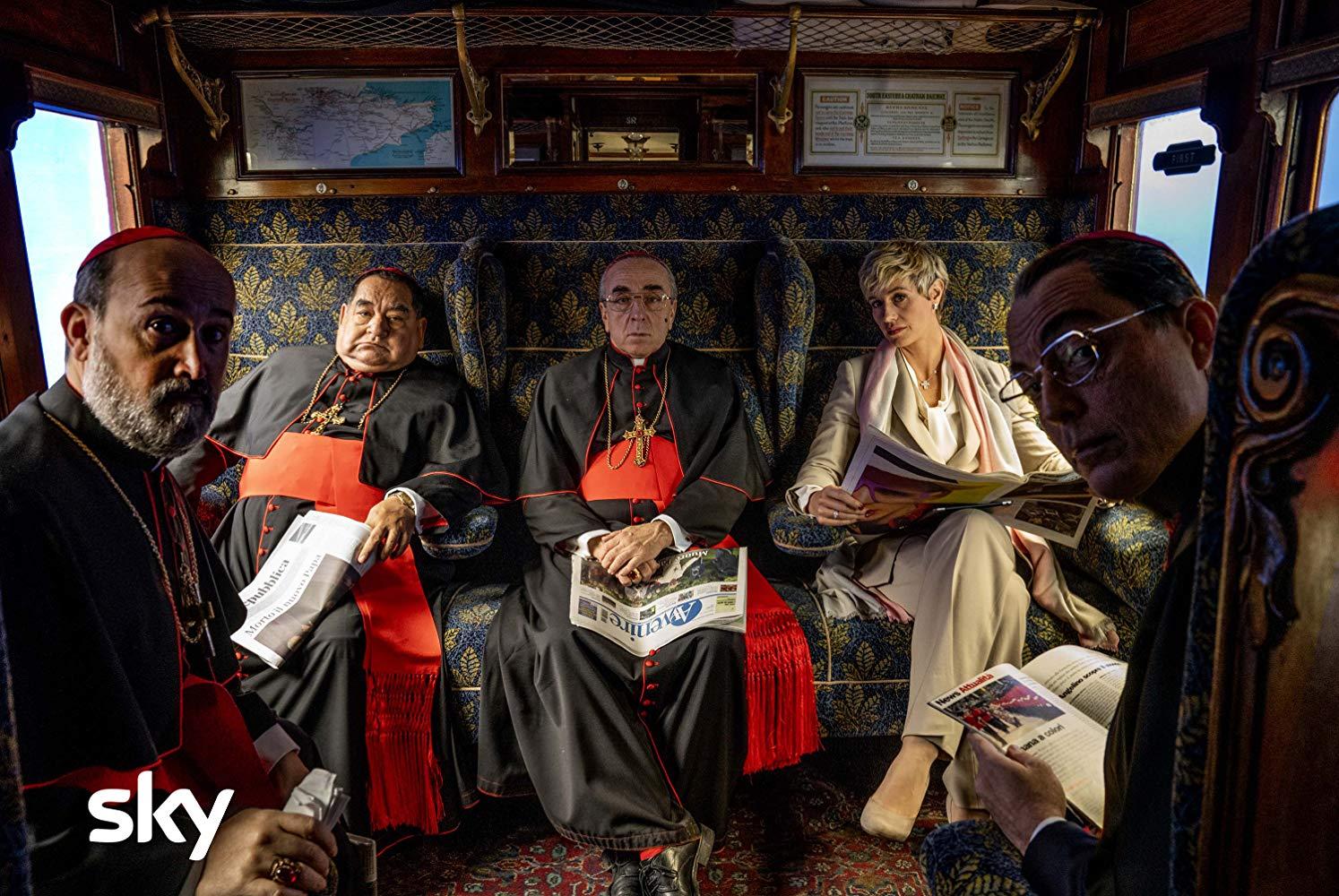 Новый Папа 2 серия кардиналы
