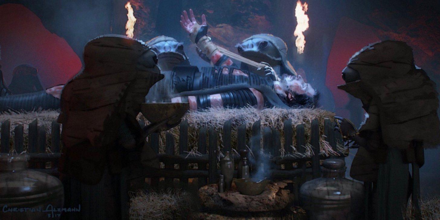 Колин Треворроу концепт-арты Дуэль судеб Duel of the Fates 2020
