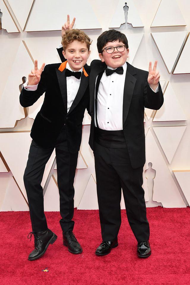 Кролик Джоджо дети актеры на красной дорожке Оскара