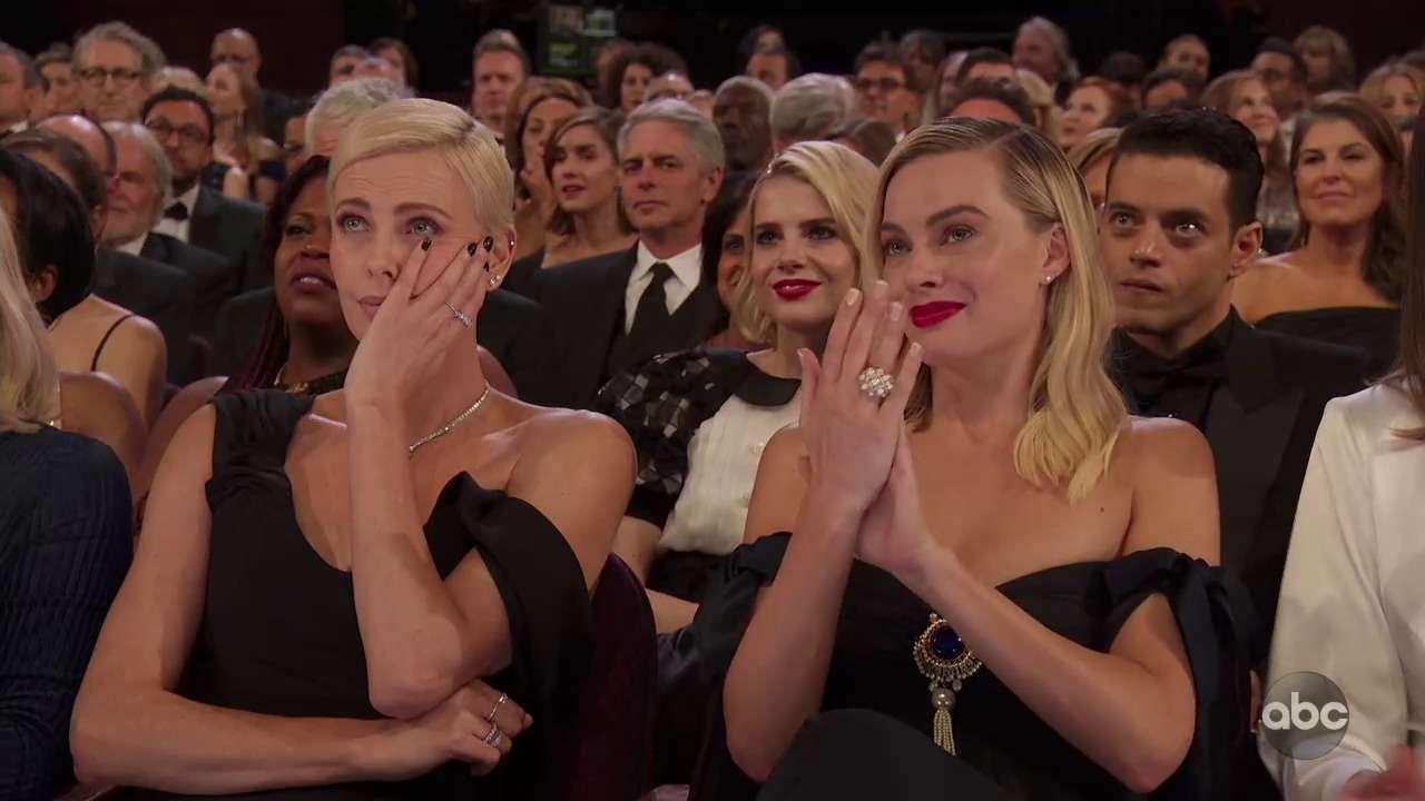 Марго Робби и Шарлиз Терон Оскар 2020